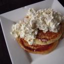 Hartige pancakes met pastinaak