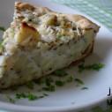 Hartige taart met pastinaak, salie en oude kaas